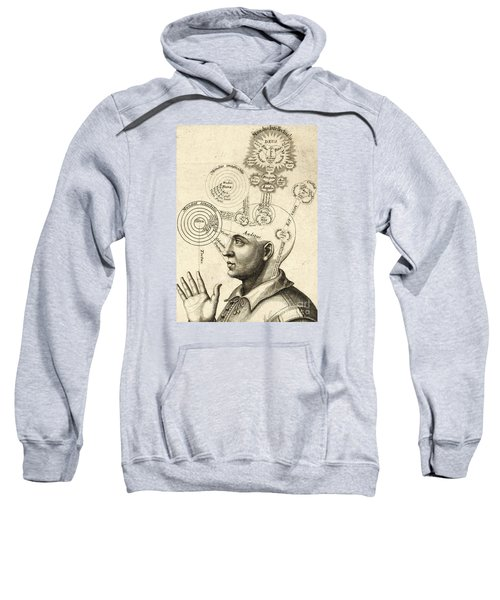 Diagram Of Human Thought And The Four Senses Sweatshirt