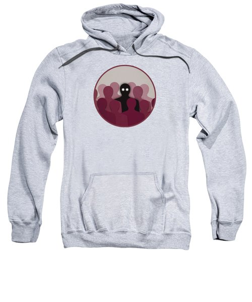 Different And Alone In Crowd Sweatshirt