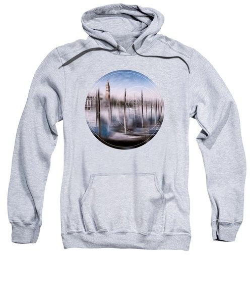 Digital-art Venice Grand Canal And St Mark's Campanile Sweatshirt
