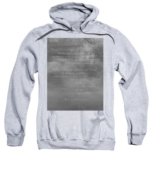 Digital Poem Sweatshirt