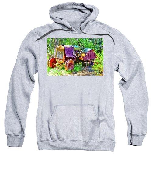 Dilapidated Tractor Sweatshirt