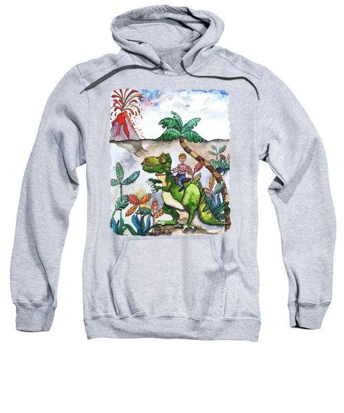 Dinosaur Rider Sweatshirt