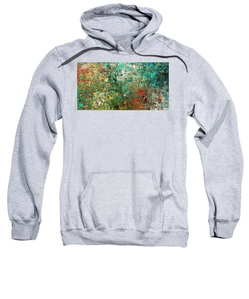 Discovery - Abstract Art Sweatshirt