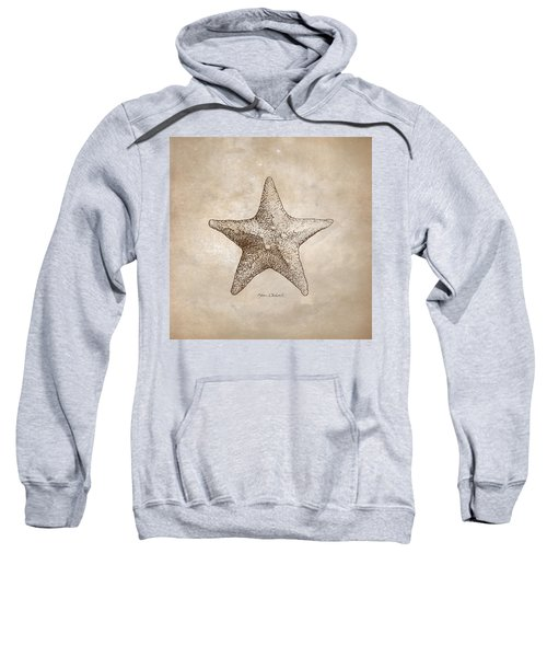 Distressed Antique Nautical Starfish Sweatshirt