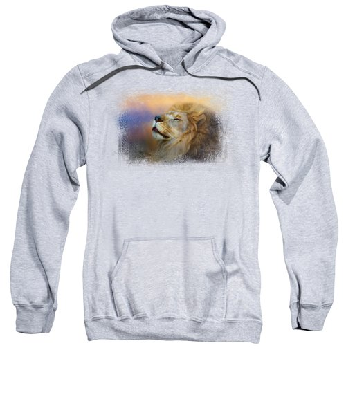 Do Lions Go To Heaven? Sweatshirt by Jai Johnson