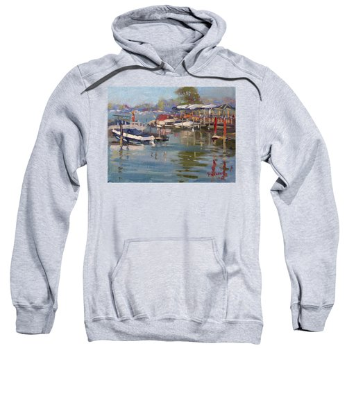 Dock In North Tonawanda Sweatshirt