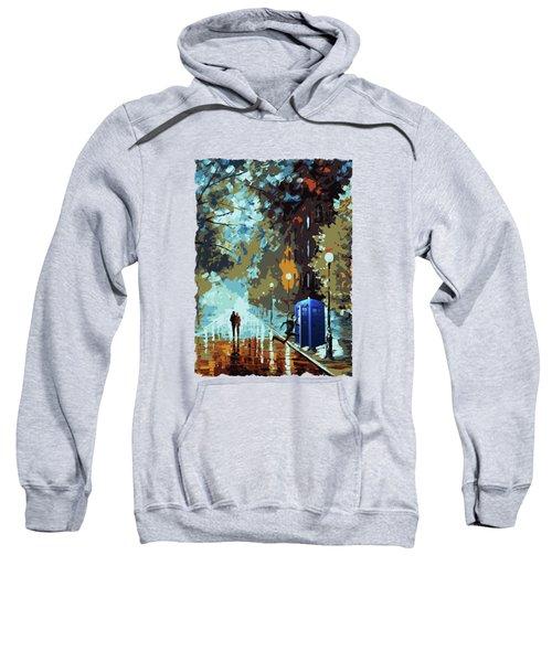 Doctor Who Art Painting Sweatshirt