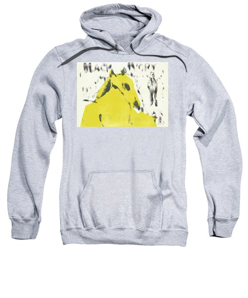 Dog At The Beach - Black Ivory 2 Sweatshirt