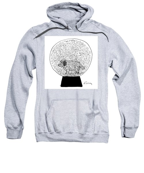 Dog Globe Sweatshirt