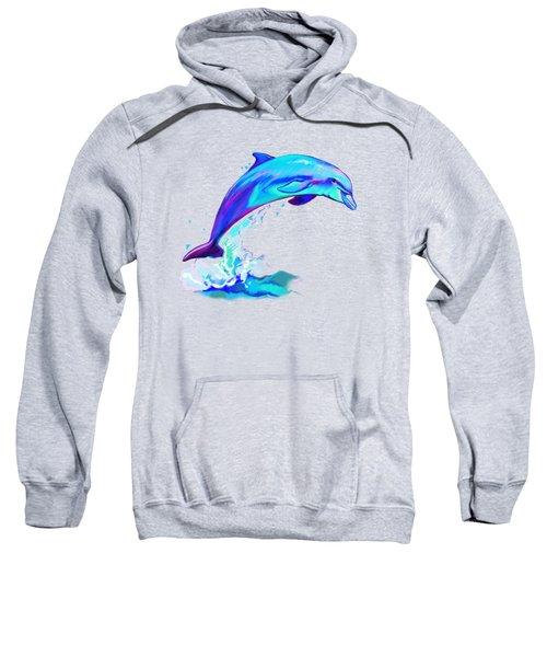Dolphin In Colors Sweatshirt