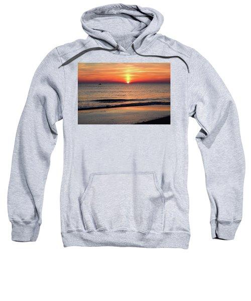 Dolphin Jumping In The Sunrise Sweatshirt
