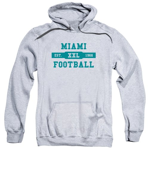 Dolphins Retro Shirt Sweatshirt by Joe Hamilton