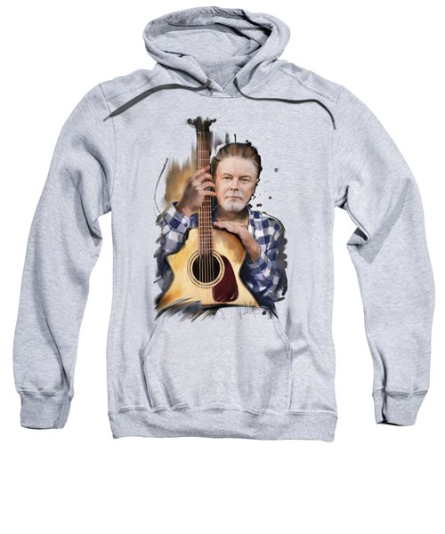 Don Henley Sweatshirt by Melanie D