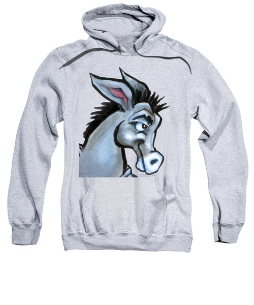 Donkey Sweatshirt by Kevin Middleton