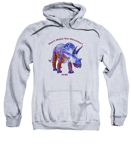 Dont Wake The Dinosaur Sweatshirt