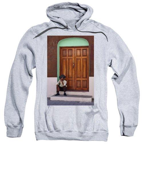 Door In Guatemala Sweatshirt