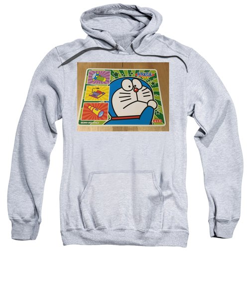 Doraemon Gadget Cat From The Future Sweatshirt