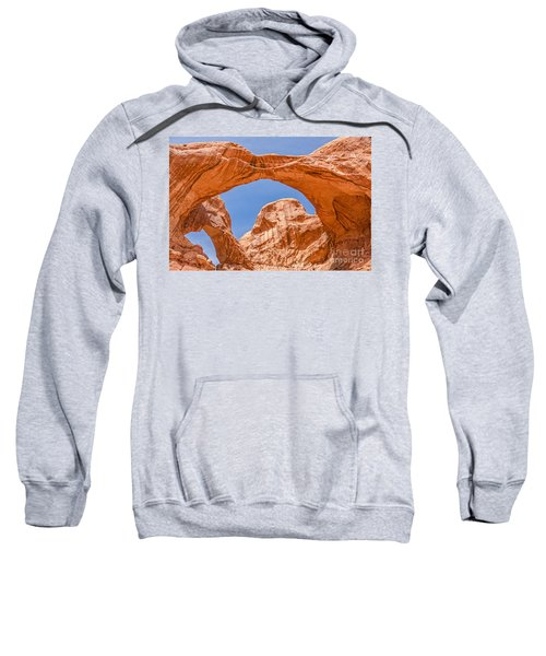 Double Arch At Arches National Park Sweatshirt