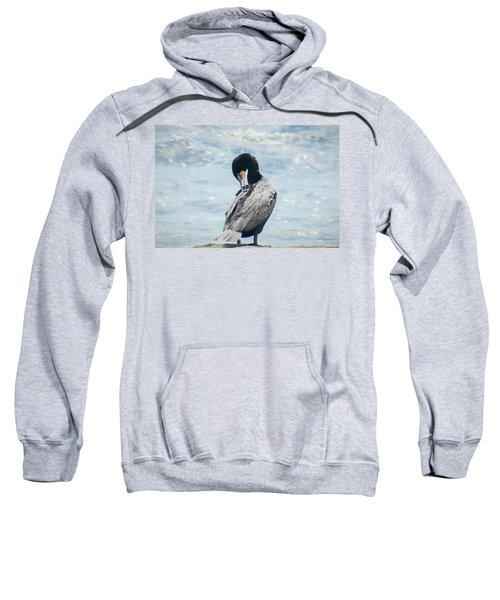 Double-crested Cormorant   Sweatshirt