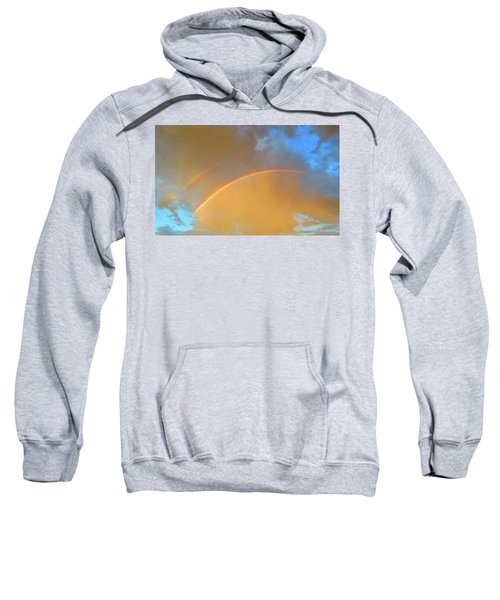 Double Rainbows In The Desert Sweatshirt