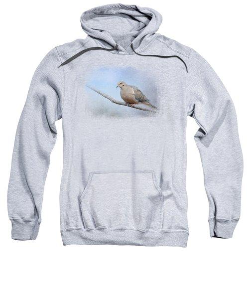 Dove In The Snow Sweatshirt