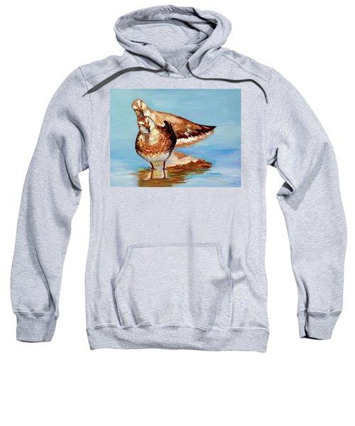 Dowitcher Birds Sweatshirt