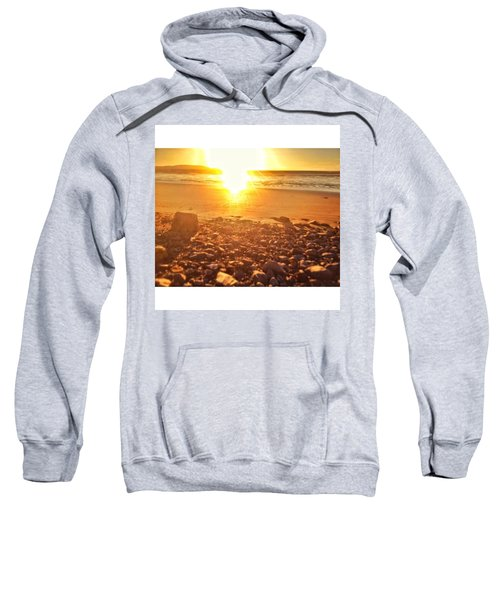 Down The Beach #beach Sweatshirt