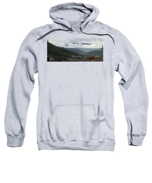 Down The Valley At Snowmass #3 Sweatshirt