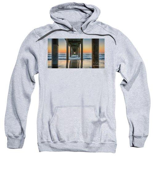 Down Under Scripp's Pier  Sweatshirt