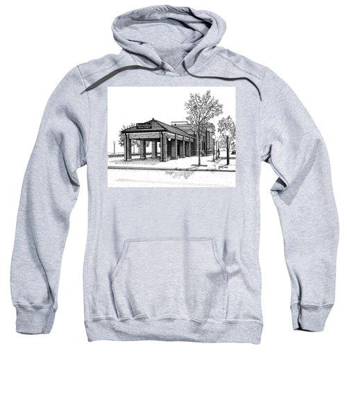Downers Grove Main Street Train Station Sweatshirt