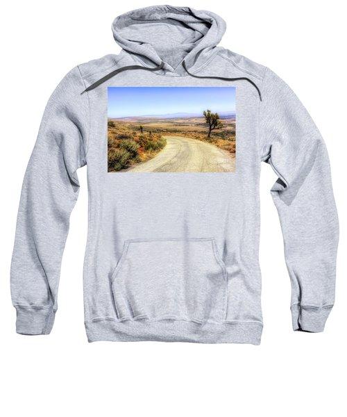 Downhill Desert Road Sweatshirt