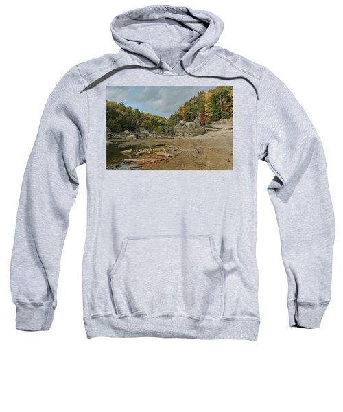 Downstream From Cumberland Falls Sweatshirt