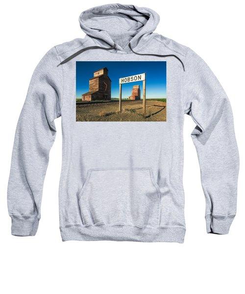 Downtown Hobson, Montana Sweatshirt