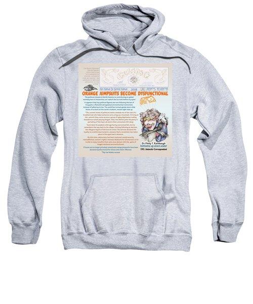 Real Fake News Antarctic Correspondent 1 Sweatshirt