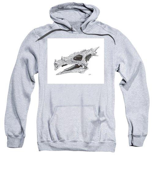 Dracorex Hogwartsia Skull Sweatshirt