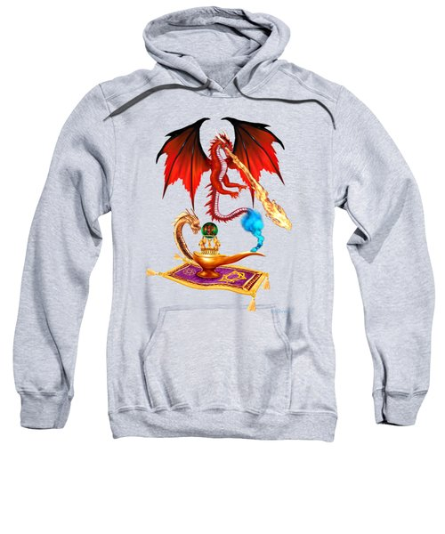 Dragon Genie Sweatshirt by Glenn Holbrook