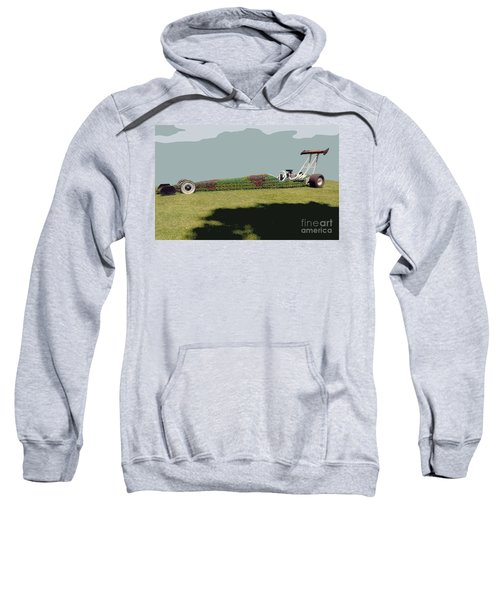 Dragster Flower Bed Sweatshirt