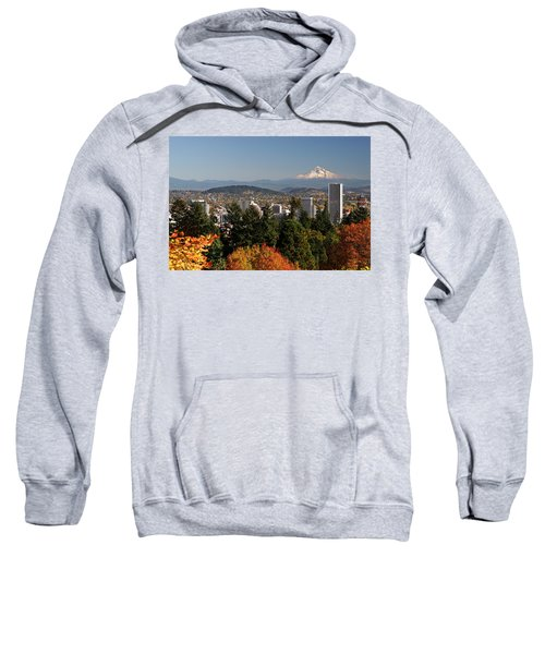 Dressed In Fall Colors Sweatshirt