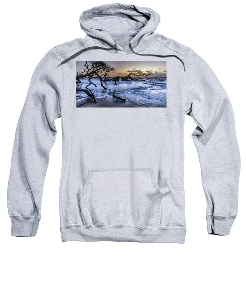 Driftwood Beach 3 Sweatshirt