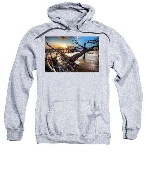Driftwood Beach 7 Sweatshirt