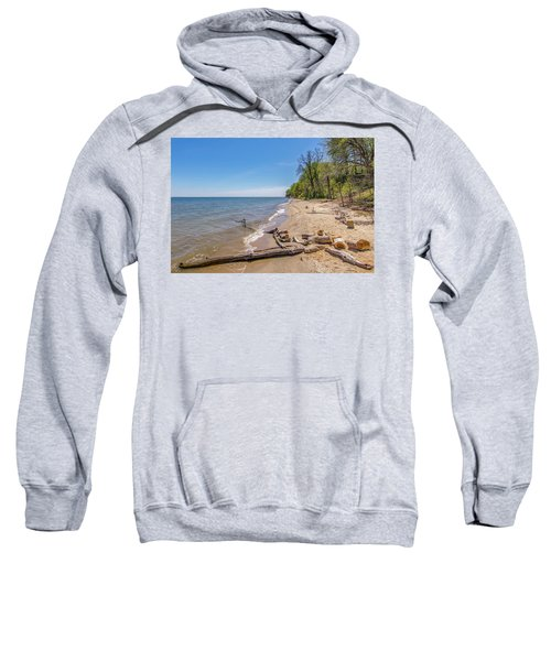 Driftwood On The Beach Sweatshirt