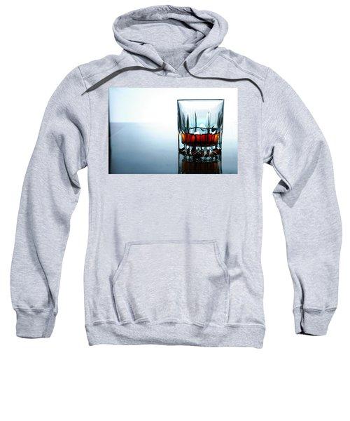 Drink In A Glass Sweatshirt by Jun Pinzon