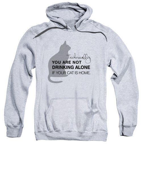 Drinking With Cats Sweatshirt