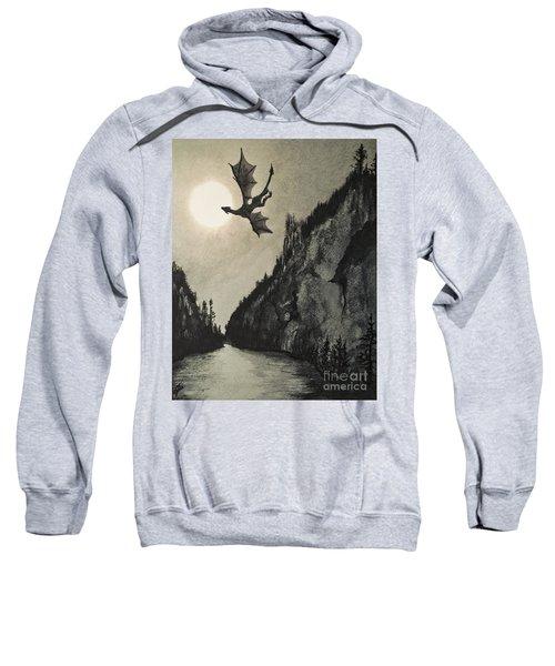 Drogon's Lair Sweatshirt by Suzette Kallen