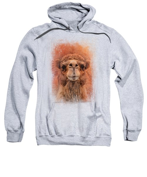 Dromedary Camel Sweatshirt by Jai Johnson