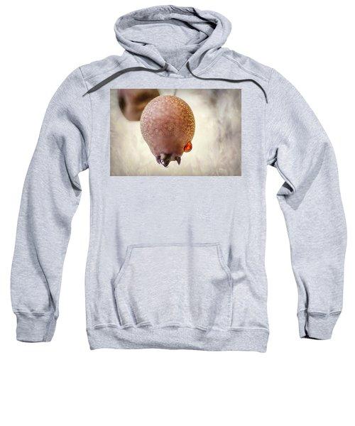 Droplet On A Bud Sweatshirt