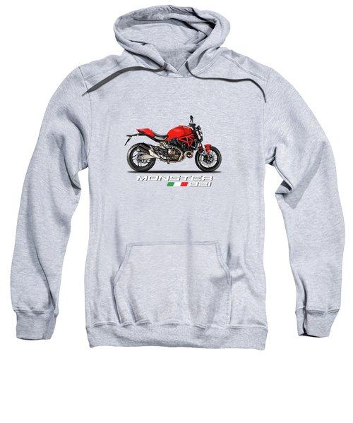 Ducati Monster 821 Sweatshirt by Mark Rogan