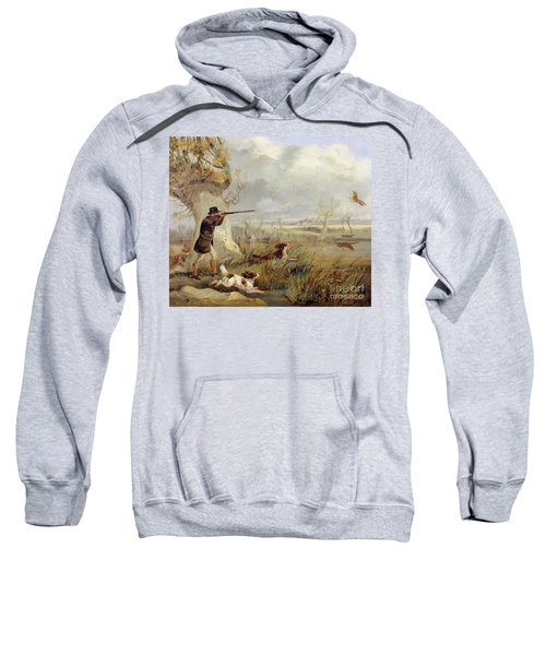 Duck Shooting  Sweatshirt