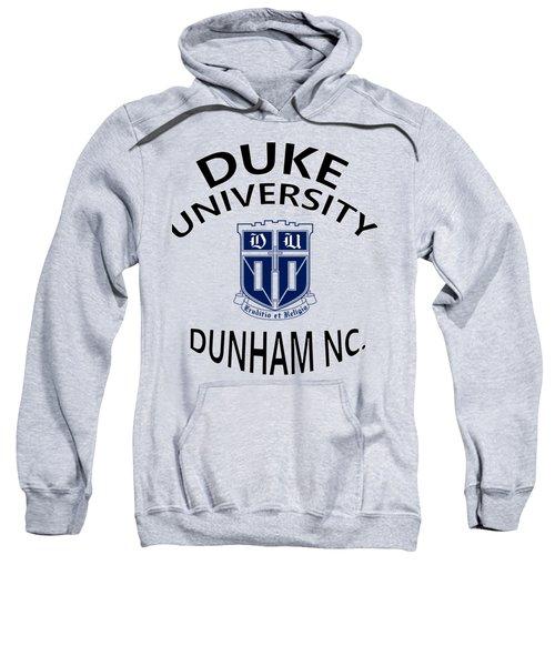 Duke University Dunham N C  Sweatshirt by Movie Poster Prints