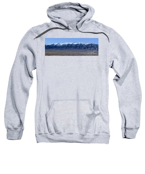 Dusk At The Sangre De Cristo Mountains Sweatshirt